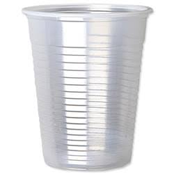 7oz Clear Water Cups (Translucent) x1000