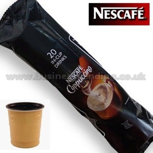 73mm In-Cup Nestle Cappuccino  8x25 cups