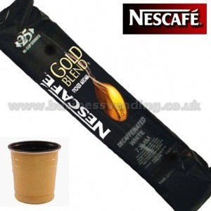 73mm In-Cup Gold Blend Coffee Decaffeinated White + Sugar