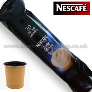 73mm In-Cup Nestle Latte  8x25 cups