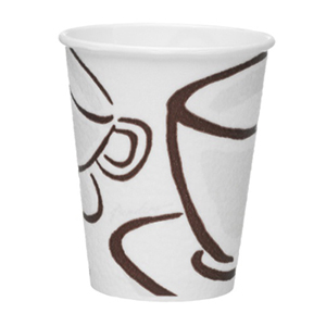 8oz Milano Barrier Design Paper Cups 1x1190 (80mm Lid)
